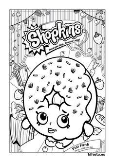 So Many Shopkins Coloring Pages To Choose From