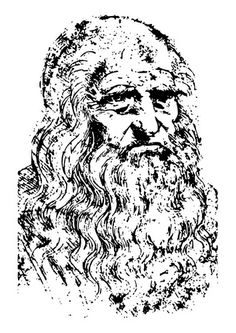 Free Image on Pixabay - Leonardo Da Vinci, Sculptor Colouring Pages, Coloring Pages For Kids, Kids Colouring, Famous Self Portraits, Famous Artwork, Collage, Black And White Portraits, African History, Famous Artists