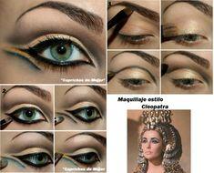 Cleopatra makeup tutorial                                                       …