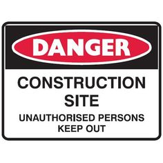 #Construction #Site #Signs #Creations #Group #Danger #Construction #Site Danger Signs, Signage, Construction, Group, Building, Billboard, Signs