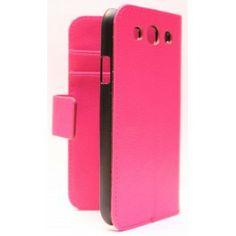 Galaxy S3 Hot Pink lompakkokotelo. Samsung Galaxy S3, Hot Pink, Pink