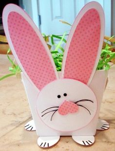 Cheap 2015 easter Basket, Bunny 2015 easter Basket, Paper crafts, home decor