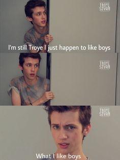 "Was anyone else like ""TROYLER TROYLER TROYLER"" at this part of his video? Lol<<< yup me"