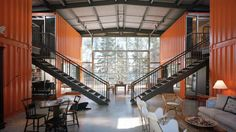 Living Inside 12 Shipping Containers Was Never More Glamorous