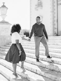 Obsessed with this beautiful photo: http://www.stylemepretty.com/2015/05/02/chic-spring-miami-engagement/ | Photography: Sawyer Baird - http://www.sawyerbaird.com/
