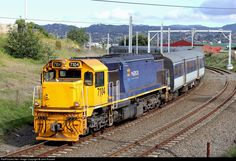 MAXX Auckland Transport service from Swanson rounds the curve at Avondale. The trains will soon be handled by new electric car sets from Spain. The old Avondale station platform once stood where the now realigned tracks are ~ Electric Train Sets, Electric Car, News Around The World, Around The Worlds, Water Catchment, Train Pictures, Car Set, Models, Auckland