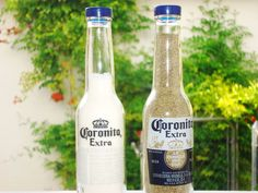 corona salt and pepper shakers!