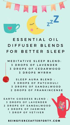 The best essential oils for sleep, here are some essential oil blends for diffuser for a good night's sleep. Discover and relax wiht lavender essential oil, chamomile essential oil, frankincense, rose and other preciosu essential oil blends for your bedroom. Essential Oils For Sleep, Best Essential Oils, Natural Sleep Remedies, Sleep Issues, Chamomile Essential Oil, Essential Oil Diffuser Blends, Self Healing, Bedtime, Healthy Lifestyle