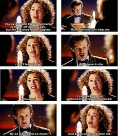 I love you,doctor who, river song