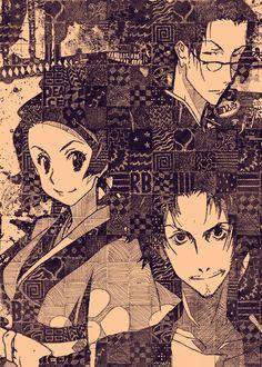 Cowboy Bebop, Samurai, Manga Covers, Yandere Simulator, Character Drawing, Kakashi, Print Artist, Japanese Culture, Cool Artwork