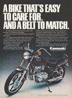 Kawasaki 440LTD Belt Drive 1979 Ad Picture