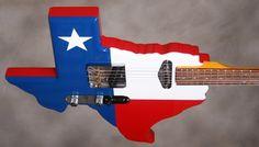 texas flag theme guitar - Google Search