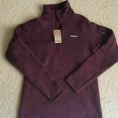Patagonia Better Sweater, Cool Sweaters, Pullover, Zip, Jackets, Women, Fashion, Down Jackets, Moda