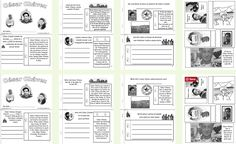 Flap books ​César Chavez, Rosa Parks, Mae Jemison, Harriet Tubman Under Social Studies Famous People The Learning Patio English/Spanish