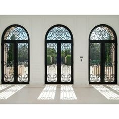 Palm Beach Mansion glass doors ❤ liked on Polyvore featuring rooms, empty rooms, windows, backgrounds and home