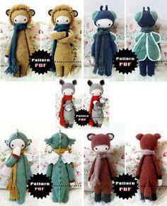 Crochet dolls, Mis niñas del ganchillo... si al final tengo crios ya os podeis portar!