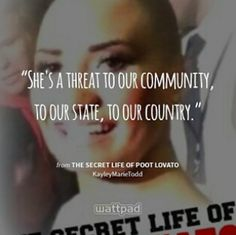 The Secret Life of Poot Lovato Girl Quotes, Me Quotes, Funny Quotes, Qoutes, Wattpad Quotes, Wattpad Books, Secret Life, The Secret, Dankest Memes