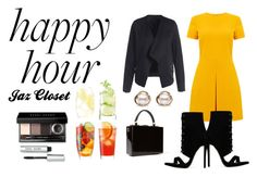 """""""Happy hour"""" by sthanji ❤ liked on Polyvore featuring Warehouse, Dolce&Gabbana, Bobbi Brown Cosmetics, LSA International and Trilogy"""