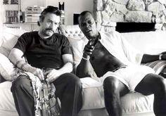 "Robert de Niro y Samuel L. Jackson en ""Jackie Brown"", 1997"