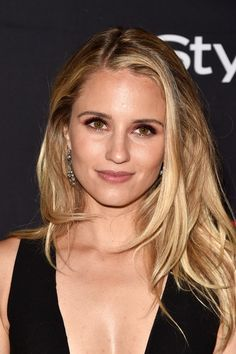 Dianna Agron Layered Cut - Dianna Agron attended the HFPA and InStyle TIFF celebration wearing a tousled layered cut.