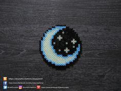 Ciel Nocturne Phosphorescent Perles Hama / Phosphoresent Nocturnal Sky Perler Beads
