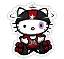 bumped harlot kitty Sticker by yayzus