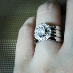 17 Best Ring Redesign Images Halo Rings Engagement Ring