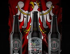 """Check out new work on my @Behance portfolio: """"1410 Grunwald Craft Amber Ale"""" http://be.net/gallery/58682491/1410-Grunwald-Craft-Amber-Ale"""