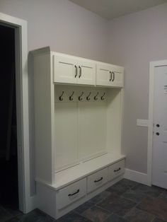 Prairie Heritage Cabinetry - Sioux Falls, SD A beautiful addition to any entry. Sioux, Laundry Rooms, Mudroom, Sd, Lockers, Locker Storage, Cabinet, Furniture, Beautiful