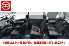 New Nissan Serena 2014 New Nissan, Car Seats