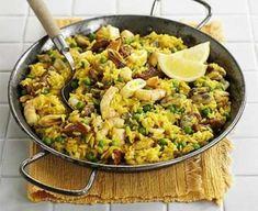 Easiest ever paella