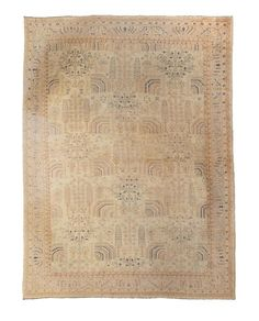 Oushak Carpet West Anatolia dimensions approximately 15ft 5in x 11ft 10in (470 x 361cm)