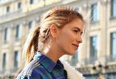 "Most Lethal Accessories: Elena Perminova    ""Elena's spiked headpiece was definitely a hair-raising accessory."""