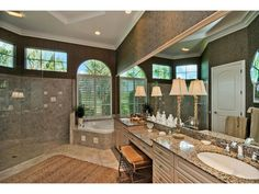 Beautiful Master Bath  | Colliers Reserve | Naples, Florida