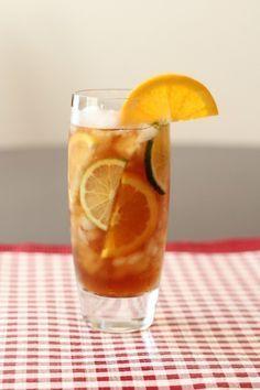 Ice chest tea.  Best tea ever made!