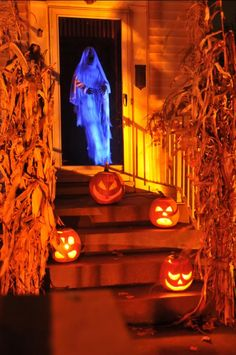 Jdubbya's ghost in doorway . The orange surroundings really sets off the UV on the ghost .