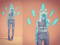 ": ""AbsoluteTerror - Terror Days [Full Mixtape]"" #phazed #psychedelic #psychedelia #psychedelics #leopard #weretiger #wereleopard #leopard #feline #sexy #crystals #energy #magic #magical #digitalart #trippy"
