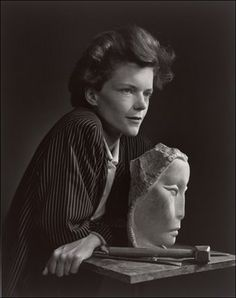 Yousuf Karsh This shot is beautiful, great lines, nice lighting - it seems to say it all.