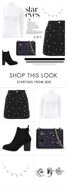 """Twinkle, Twinkle: Star Outfits"" by arrowette-845 ❤ liked on Polyvore featuring Topshop, Michael Kors, Kate Spade, Itsy Bitsy and StarOutfits"