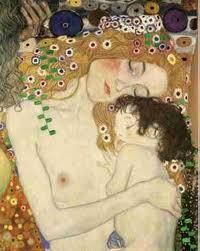 Gustav Klimt ~ Mother and Child...my favorite paining my him.