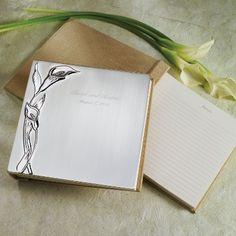 Calla Lily Wedding Guest Book