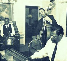 Oscar Peterson. Ed Thigpen and Ray Brown