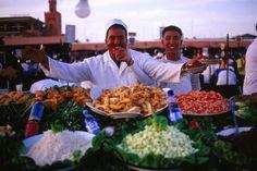 Marrakesh food sellers #JetsetterCurator