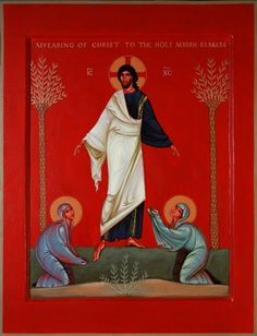 Appearing Christ to the Holy Myrrhbearers. 2014 Philip Davydov