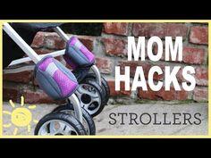 Mama befestigt Kabelbinder an den Rädern ihres Kinderwagens. Als sie ihn schiebt? Genial! | LikeMag | We Like You