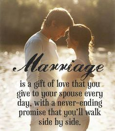 married love and the gift of life