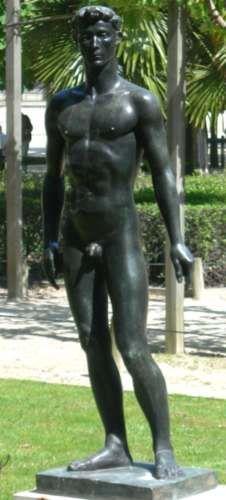 Paul Belmondo : Apollon, Jardin des Tuileries                              …