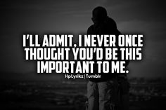 never once thought