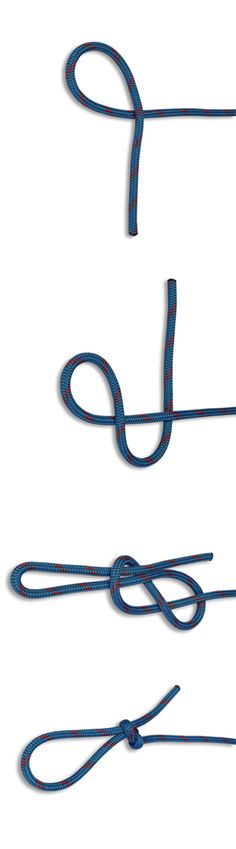 How to tie a Slipped Figure Eight Knot