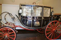 Scottish State Coach at the Royal Mews